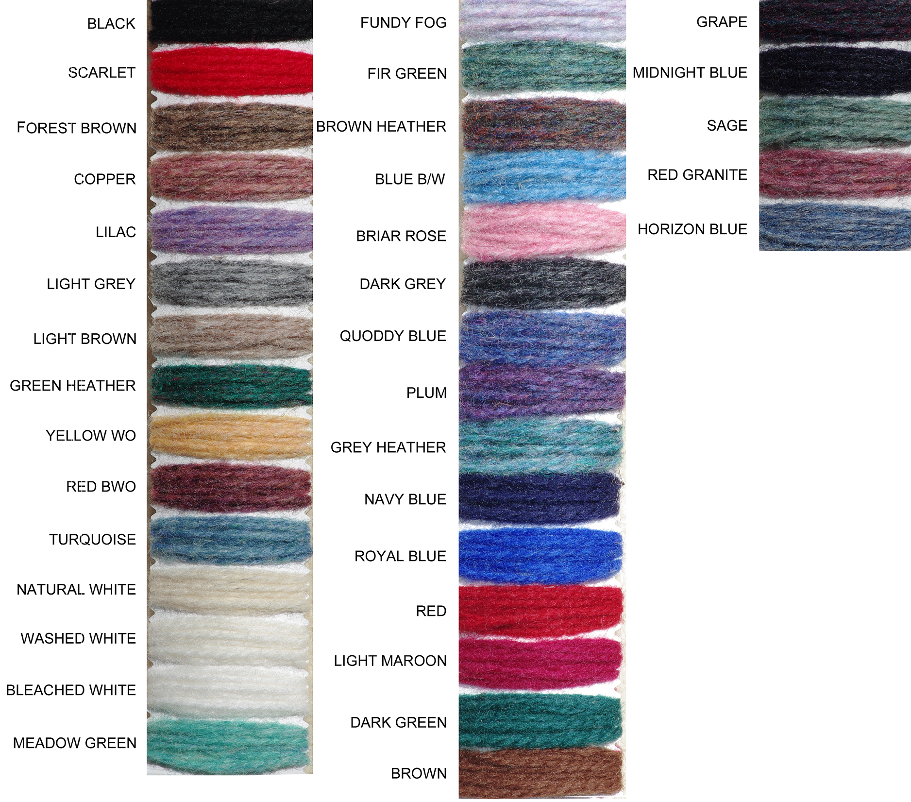 Wool knitting yarns wool knitting yarn from briggs little patterns available nvjuhfo Choice Image