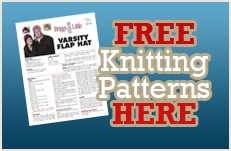 download our free knitting patterns from our website